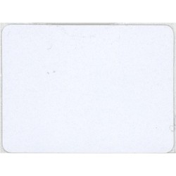 ETIQUETAS ADHESIVA 30X40 RF LABEL DEAC 8.2 MHZ WHITE. PRECIO POR MILLAR (ROLLOS DE 1.000 UDS.)