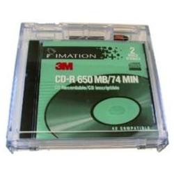 KEEPER PARA CD DOBLE CON 2 ETIQUETAS EM