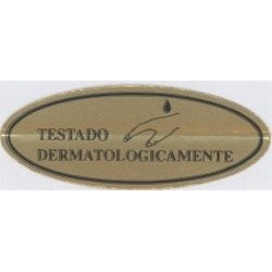 ROLLO 750 ETIQ.15X40 DORA IMP NEGR STRIP DESACTIVABLE PRECIO POR ROLLO (ROLLOS DE 750 UDS.)