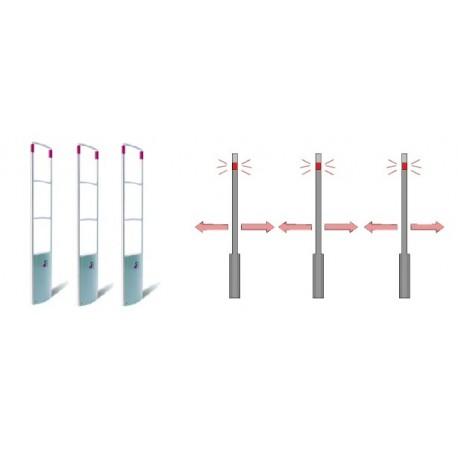 SISTEMA DUAL PLUS 3G PAB+PAB+PAB (3 ANTENAS) (2 PASILLOS AMPLIADOS)