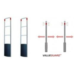 SISTEMA SIMPLE VALUEGUARD QX  (2 ANTENAS) PAB+SSB (1 PASILLO AMPLIADO) (INSTALACIÓN INCLUIDA)  ELECTRÓNICA ECO