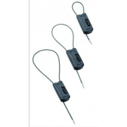 "CABLE WRAP AJUSTABLE  1 ALARMA - 6"" (15CM) AM"